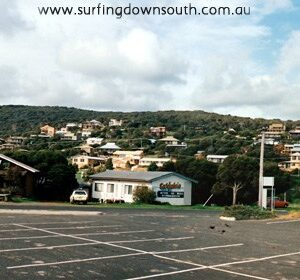 WA surfing history presentation - Late 1970's - Yallingup beach and hill.