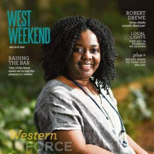 Fadzi Whande - West Weekend cover
