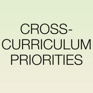 CROSS-CURRICULUM PRIORITIES