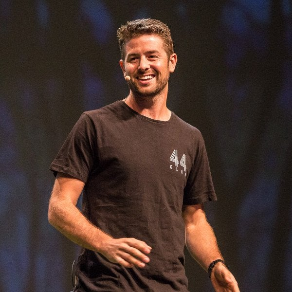 How Ridiculous Talks - Brett Stanford presenting on stage - Book now!