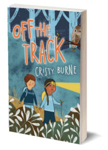 Cristy Burne - Off the Track Cover