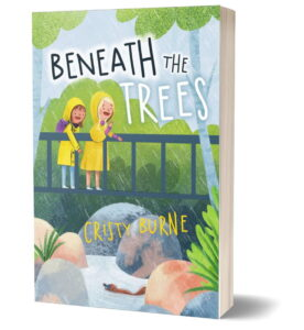 Cristy Burne - Beneath the Trees - book cover