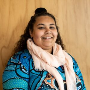 Female Aboriginal school speaker